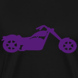 chopper low rider vector T-Shirts - Men's Premium T-Shirt
