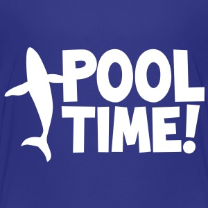 pool time! with a whale Baby & Toddler Shirts - Toddler Premium T-Shirt