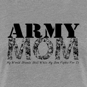 Army Mom (SON) - Women's Premium T-Shirt