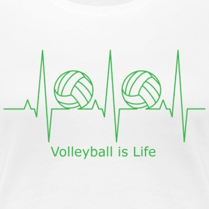 Volleyball is Life - Women's Premium T-Shirt