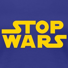 Stop Wars - 5 Women's T-Shirts