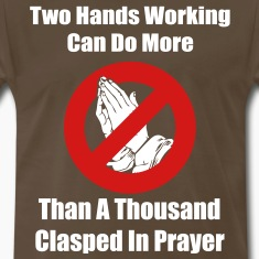 Two Hands Working... T-Shirts