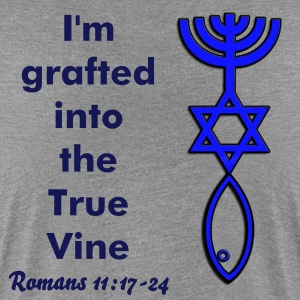 Women's Tee - I'm grafted into the True Vine. - Women's Premium T-Shirt