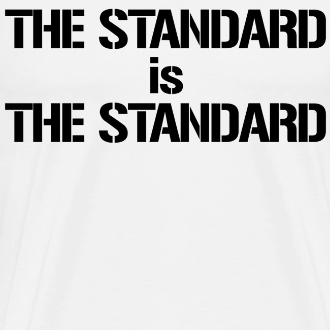 The Standard is the Standard White