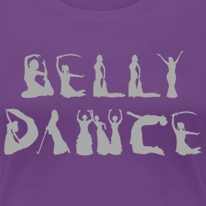 Belly Dancer Alphabet Women's T-Shirts - Women's Premium T-Shirt