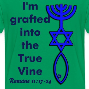 Kid's Tee - I'm grafted into the True Vine. - Kids' Premium T-Shirt