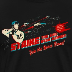 Join the Space Force (darkshirt) T-Shirts