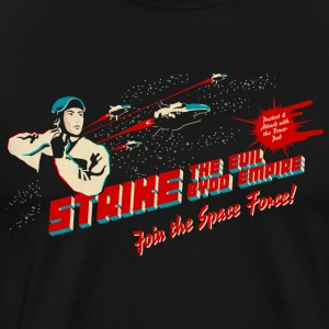Join the Space Force (darkshirt) T-Shirts - Men's Premium T-Shirt