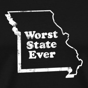 MISSOURI - WORST STATE EVER T-Shirts - Men's Premium T-Shirt