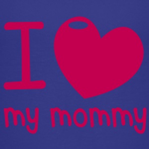 I LOVE MY MOMMY! with cute little love heart Kids' Shirts - Kids' Premium T-Shirt