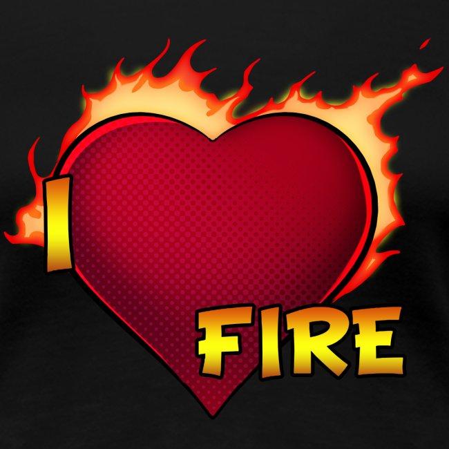I Love Fire (Woman Classic)