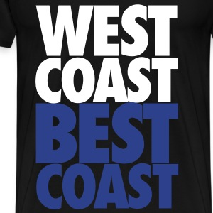 West Coast Best Coast - Men's Premium T-Shirt