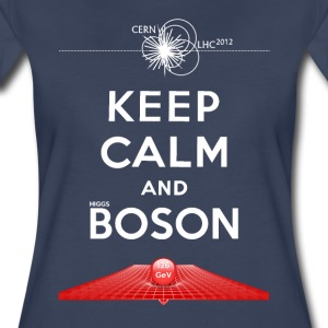 Keep Calm And Higgs Boson Tee - Women's Premium T-Shirt