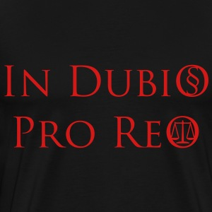 In Dubio Pro Reo T-Shirt - Men's Premium T-Shirt