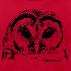 Barred Owl 3 T-Shirts - Men's T-Shirt by American Apparel