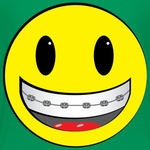 Smiley shirt - braces - Kids' Premium T-Shirt