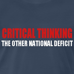 Critical Thinking T-Shirts - Men's Premium T-Shirt