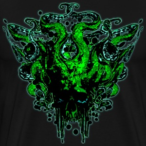 Medusa Skull XL - Men's Premium T-Shirt