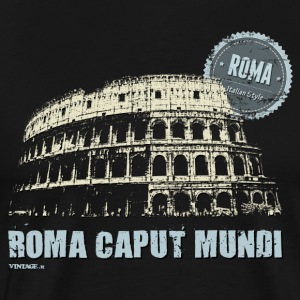 Italian cities - ROME T-Shirts - Men's Premium T-Shirt