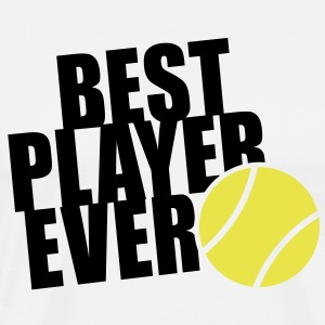 BEST TENNIS PLAYER EVER 2C T-Shirt BW - Men's Premium T-Shirt