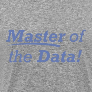 Master of the Data! - Men's Premium T-Shirt