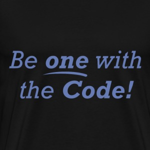 Be one with the Code! - Men's Premium T-Shirt