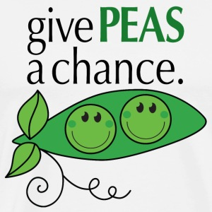 give PEAS a chance. T-Shirts - Men's Premium T-Shirt