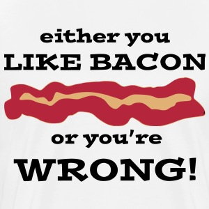 Like BACON T-Shirts - Men's Premium T-Shirt