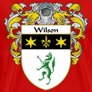 Wilson Coat of Arms/Family Crest - Men's Premium T-Shirt