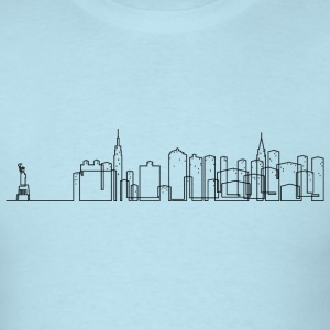 New York City Skyline Shirt - Men's T-Shirt