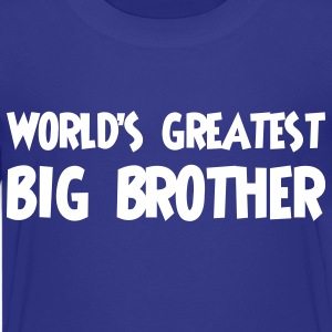 World's greatest big brother - Kids' Premium T-Shirt