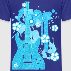 GUITAR-POP TUNES - Kids' Premium T-Shirt