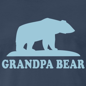 GRANDPA BEAR T-Shirt HN - Men's Premium T-Shirt