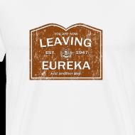 Design ~ Now Leaving Eureka (Distressed) - Eureka | Robot Plunger