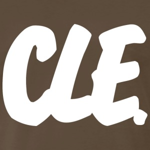 CLE Brushed B Heavyweight T-Shirt - Men's Premium T-Shirt