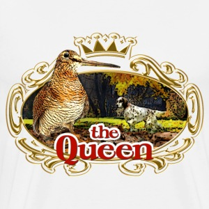 queen_woodcock T-Shirts - Men's Premium T-Shirt