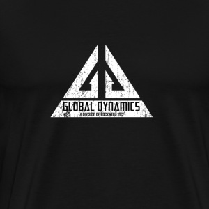 Global Dynamics - Eureka | Robot Plunger T-Shirts - Men's Premium T-Shirt