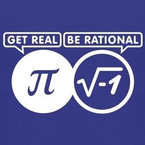 get real - be rational (1c) Kids' Shirts - Kids' Premium T-Shirt