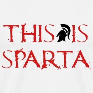 This Is Sparta T-Shirts - Men's Premium T-Shirt
