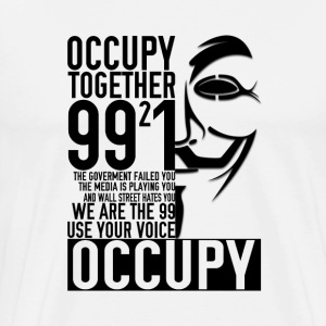 We Occupy Shirt - Men's Premium T-Shirt