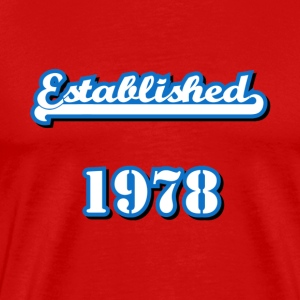 Established 1978 T-Shirts - Men's Premium T-Shirt