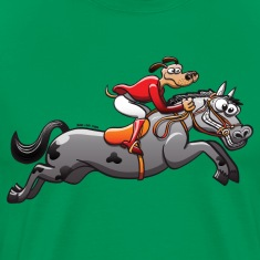 Olympic Equestrian Jumping Dog T-Shirts