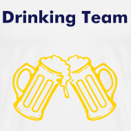 Design ~ Men's T-Shirt Drinking Buddies 46 & 47