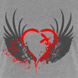 Blood Wings Women's T-Shirts - Women's Premium T-Shirt