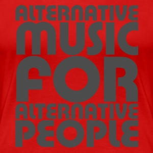 Alternative Music Women's T-Shirts - Women's Premium T-Shirt