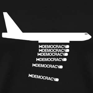 bomb democracy - Men's Premium T-Shirt