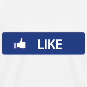 Facebook Like T-Shirts - Men's Premium T-Shirt