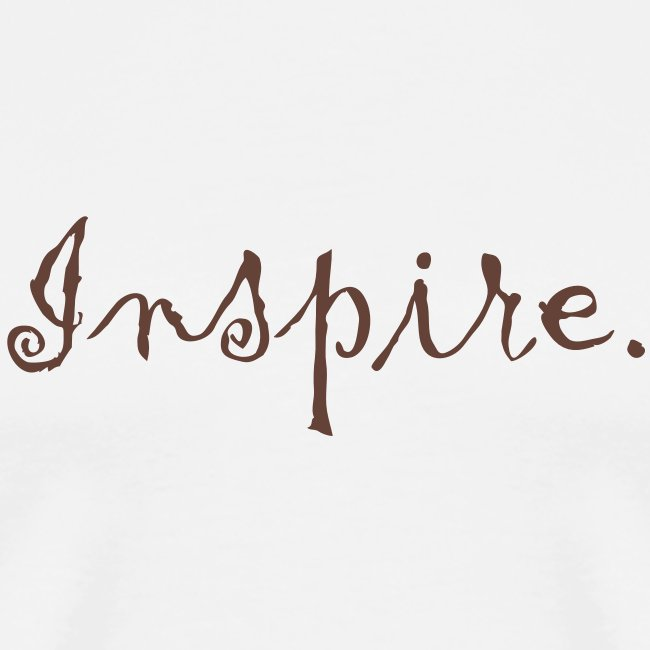 Inspire. Just one word can change the world.
