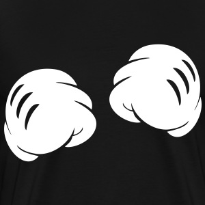 MICKEY FIST HANDS T-Shirts - Men's Premium T-Shirt