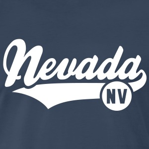 Nevada NV T-Shirt WN - Men's Premium T-Shirt